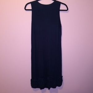 NWOT Design History Textured Empire Dress Small